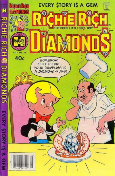 Cover for Richie Rich Diamonds (Harvey, 1972 series) #48