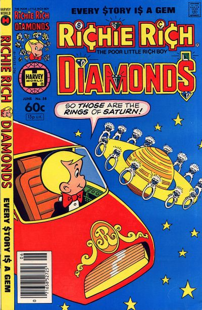 Cover for Richie Rich Diamonds (Harvey, 1972 series) #58