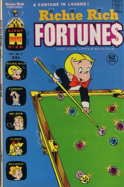 Cover for Richie Rich Fortunes (Harvey, 1971 series) #11