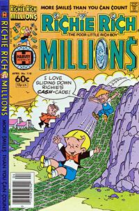 Cover Thumbnail for Richie Rich Millions (Harvey, 1961 series) #110