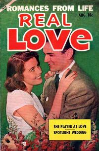 Cover for Real Love (Ace Magazines, 1949 series) #56