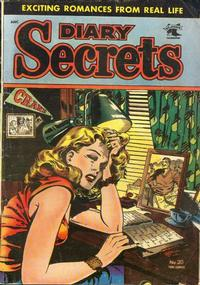 Cover Thumbnail for Diary Secrets (St. John, 1952 series) #20