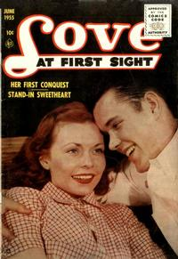 Cover Thumbnail for Love at First Sight (Ace Magazines, 1949 series) #35