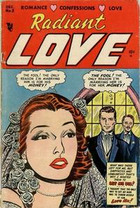 Cover Thumbnail for Radiant Love (Stanley Morse, 1953 series) #2