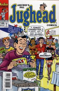 Cover for Archie&#39;s Pal Jughead Comics (1993 series) #166