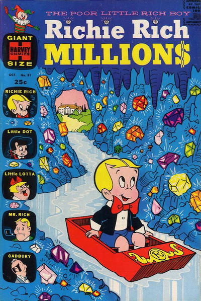 Cover for Richie Rich Millions (Harvey, 1961 series) #31