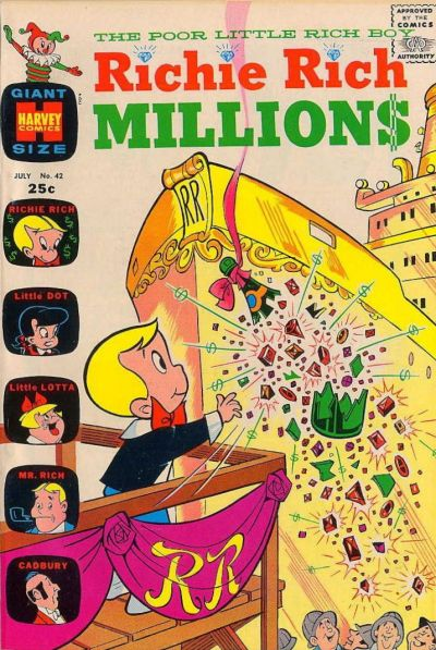 Cover for Richie Rich Millions (Harvey, 1961 series) #42