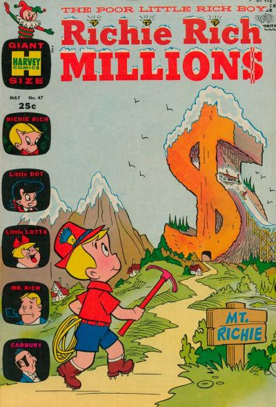 Cover for Richie Rich Millions (Harvey, 1961 series) #47