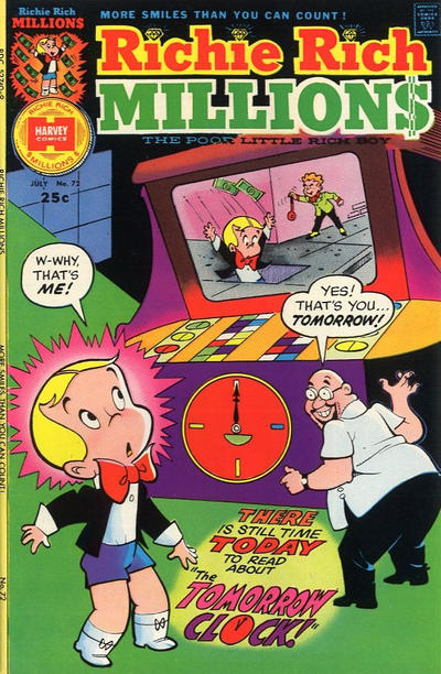 Cover for Richie Rich Millions (1961 series) #72