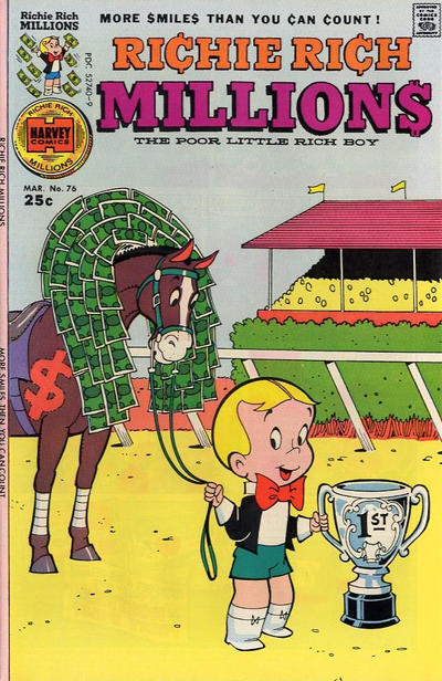 Cover for Richie Rich Millions (Harvey, 1961 series) #76