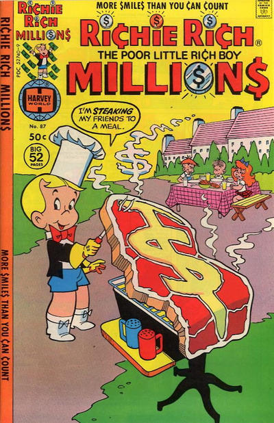 Cover for Richie Rich Millions (Harvey, 1961 series) #87