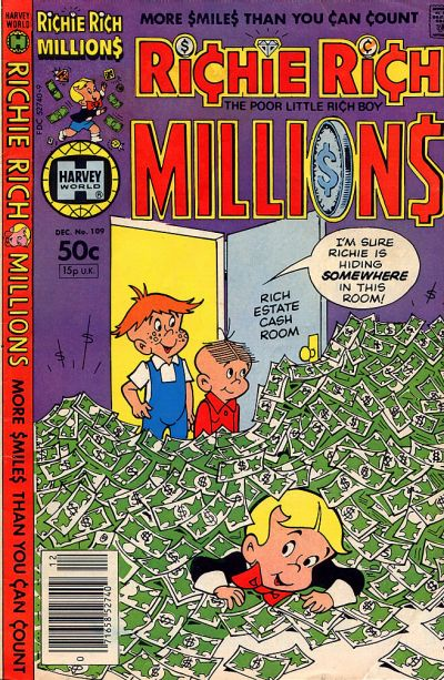 Cover for Richie Rich Millions (Harvey, 1961 series) #109
