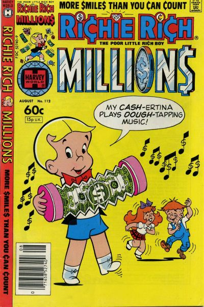 Cover for Richie Rich Millions (Harvey, 1961 series) #112