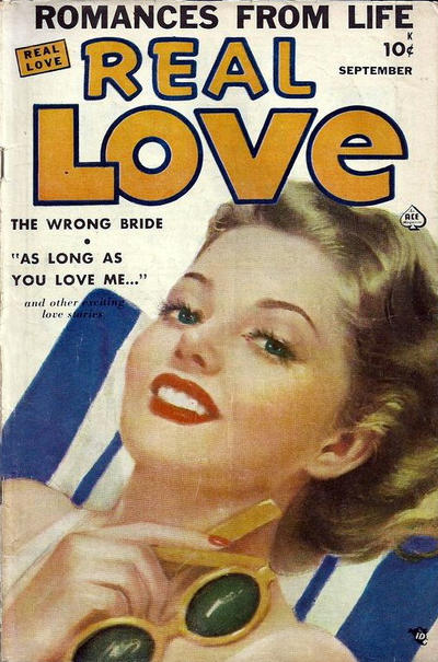 Cover for Real Love (Ace Magazines, 1949 series) #33