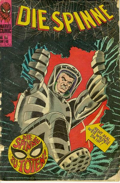 Cover for Die Spinne (1974 series) #59