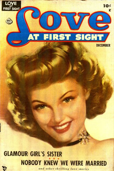 Cover for Love at First Sight (Ace Magazines, 1949 series) #2