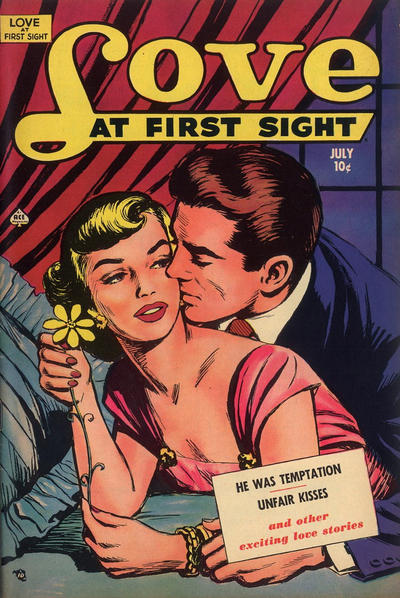 Cover for Love at First Sight (Ace Magazines, 1949 series) #10