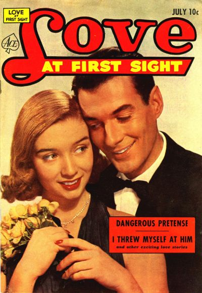 Cover for Love at First Sight (Ace Magazines, 1949 series) #22