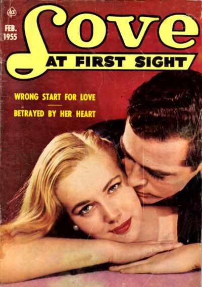 Cover for Love at First Sight (Ace Magazines, 1949 series) #33