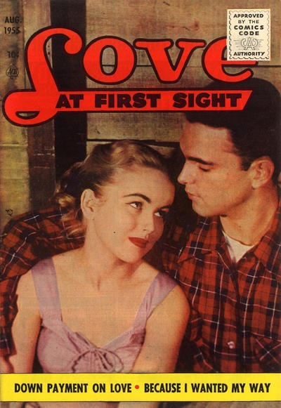 Cover for Love at First Sight (Ace Magazines, 1949 series) #36