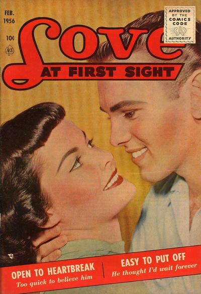 Cover for Love at First Sight (Ace Magazines, 1949 series) #39