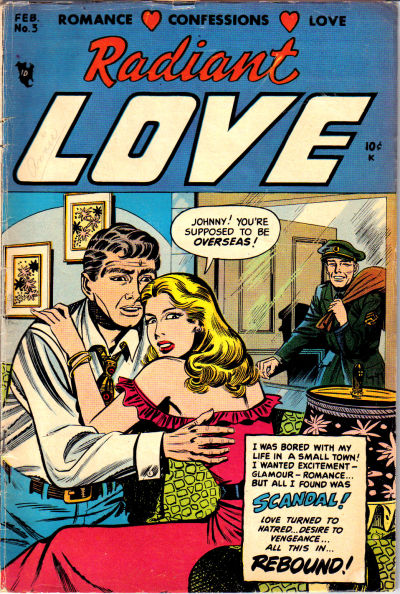 Cover for Radiant Love (Stanley Morse, 1953 series) #3