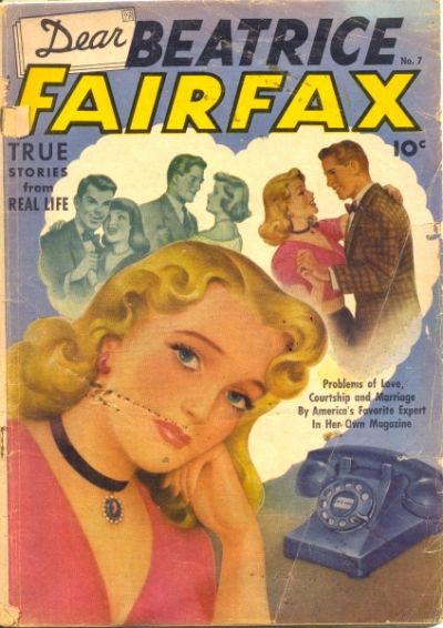 Cover for Dear Beatrice Fairfax (1950 series) #7