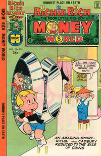 Cover Thumbnail for Richie Rich Money World (Harvey, 1972 series) #33