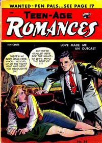 Cover Thumbnail for Teen-Age Romances (St. John, 1949 series) #38