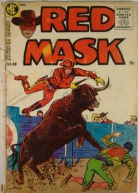 Cover Thumbnail for Red Mask (Magazine Enterprises, 1954 series) #49