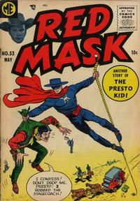 Cover Thumbnail for Red Mask (Magazine Enterprises, 1954 series) #53