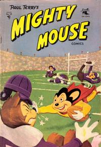 Cover Thumbnail for Paul Terry's Mighty Mouse Comics (St. John, 1951 series) #59
