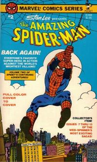 Cover Thumbnail for The Amazing Spider-Man (Pocket Books, 1977 series) #2 (81444)