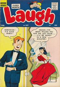 Cover Thumbnail for Laugh Comics (Archie, 1946 series) #107
