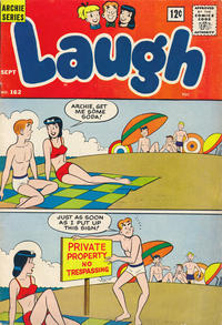 Cover for Laugh Comics (Archie, 1946 series) #162