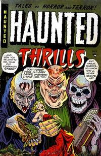 Cover Thumbnail for Haunted Thrills (Farrell, 1952 series) #11