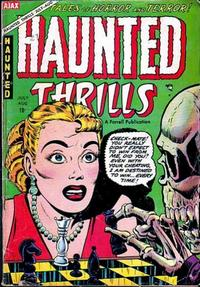 Cover Thumbnail for Haunted Thrills (Farrell, 1952 series) #16