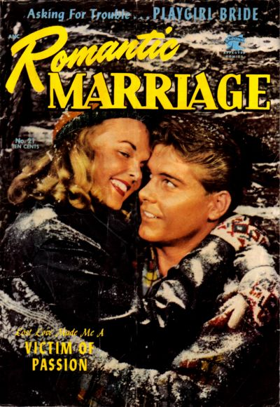 Cover for Romantic Marriage (1953 series) #21