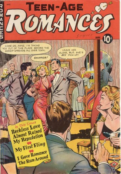 Cover for Teen-Age Romances (St. John, 1949 series) #10