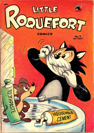 Cover for Little Roquefort Comics (St. John, 1952 series) #9