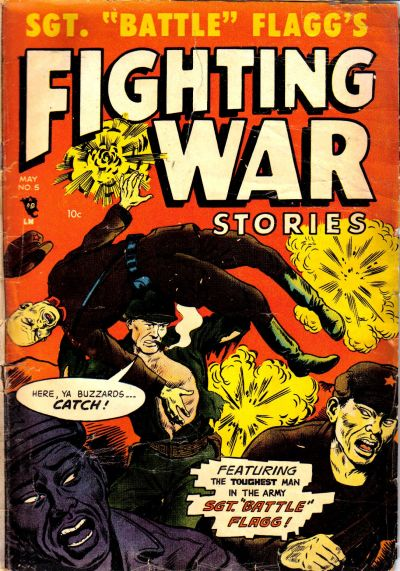 Cover for Fighting War Stories (Story Comics, 1952 series) #5