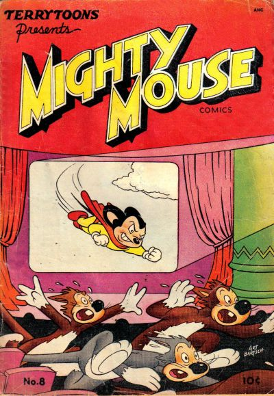 Cover for Mighty Mouse (St. John, 1947 series) #8