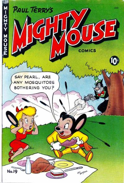 Cover for Mighty Mouse (St. John, 1947 series) #19