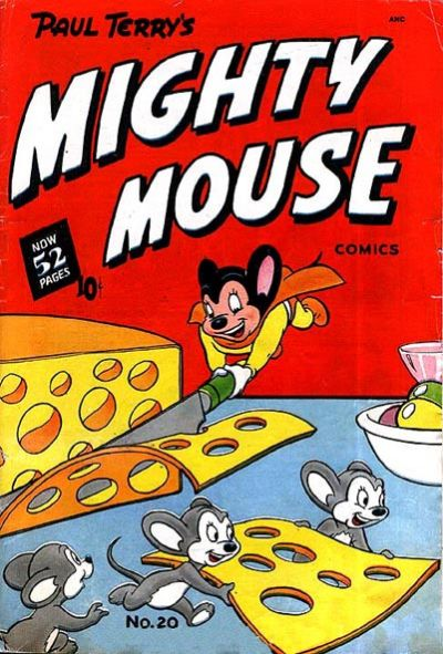 Cover for Mighty Mouse (St. John, 1947 series) #20 [52-pages]
