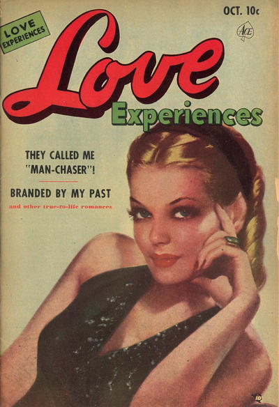 Cover for Love Experiences (Ace Magazines, 1951 series) #9