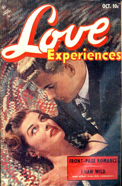 Cover for Love Experiences (Ace Magazines, 1951 series) #21