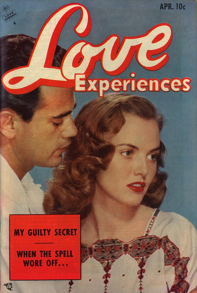Cover for Love Experiences (Ace Magazines, 1951 series) #24