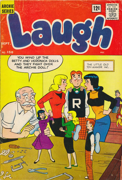 Cover for Laugh Comics (1946 series) #150