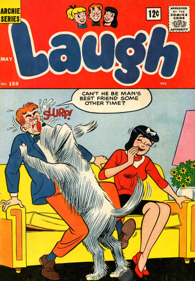 Cover for Laugh Comics (Archie, 1946 series) #158