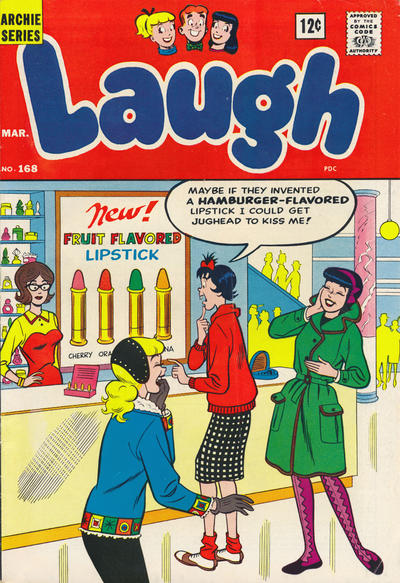 Cover for Laugh Comics (1946 series) #168
